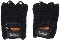 Перчатки для пауэрлифтинга Indigo SB-16-1967 (XXL, черный/коричневый) -