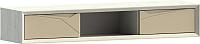 Шкаф навесной WellMaker Куб ПНн-150 (аляска/песочный) -