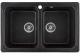 Мойка кухонная Gerhans C02 (черный) -