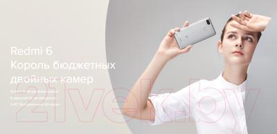 Смартфон Xiaomi Redmi 6 3Gb/64Gb (золото)