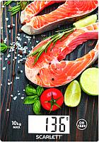 Кухонные весы Scarlett SC-KS57P37 (лосось) -