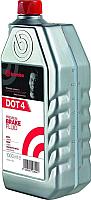 Тормозная жидкость Brembo DOT 4 / L04010 (1л) -