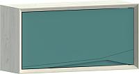 Шкаф навесной WellMaker Куб ПВ2-100 (аляска/морской) -