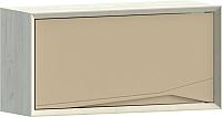 Шкаф навесной WellMaker Куб ПВ2-100 (аляска/песочный) -