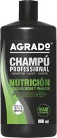 Шампунь для волос Agrado Pro Nourishing Dry Hair питательный для сухих волос (900мл) -