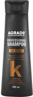 Шампунь для волос Agrado Prof Keratin (400мл) -