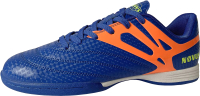 Бутсы футзальные Novus NSB-20 Indoor (голубой/оранжевый, р-р 38) -