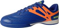 Бутсы футзальные Novus NSB-20 Indoor (голубой/оранжевый, р-р 41) -