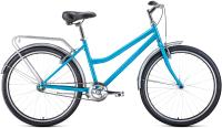 Велосипед Forward Barcelona 26 1.0 2021 / RBKW1C161004 (17, бирюзовый/бежевый) -