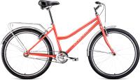 Велосипед Forward Barcelona 26 1.0 2021 / RBKW1C161002 (17, коралловый/бежевый) -
