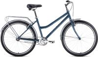 Велосипед Forward Barcelona 26 1.0 2021 / RBKW1C161003 (17, серый/бежевый) -