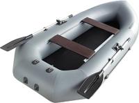 Гребная лодка Муссон К-280 (серый) -