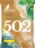 Масло для ванны Sativa №502 Побег в жаркое лето (15г) -