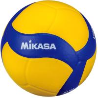 Мяч волейбольный Mikasa V390W (размер 5, желтый/синий) -
