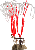 Декорация для аквариума GloFish Растение M / 77376 (оранжевый) -