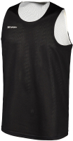 Майка баскетбольная 2K Sport Training / 130062 (XS, черный/белый) -