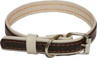 Ошейник Humpo Ролл / 412225-3 (коричневый/белый) -