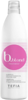 Шампунь для волос Tefia Bblond Treatment для светлых волос с абиссинским маслом (1л) -