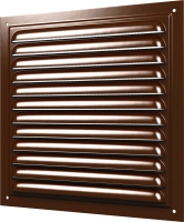 Решетка вентиляционная ERA 3030МЭ (коричневый) -