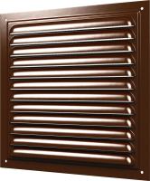 Решетка вентиляционная ERA 1515МЭ (коричневый) -