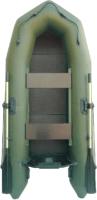 Моторно-гребная лодка Муссон 2600 С (зеленый) -