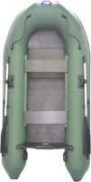 Моторно-гребная лодка Муссон 2900 С (зеленый) -