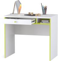 Письменный стол Mobi Альфа 12.41 (лайм зеленый/белый премиум) -