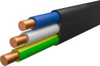 Кабель силовой Ecocable ВВГ-П 3x1.5 ок (N / PE) - 0.66 (20м) -