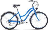 Велосипед Forward Evia Air 26 1.0 2021 / RBKW1C367006 (16, синий/белый) -