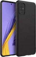 Чехол-накладка Case Matte для Galaxy A51 (черный) -