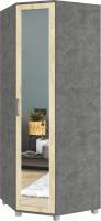 Шкаф Modern Ева Е58 (камень темный/ирландский дуб) -