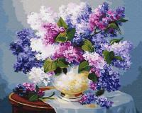 Картина по номерам Picasso Сирень на столе (PC4050368) -