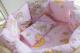 Комплект в кроватку Баю-Бай Нежность К91-Н1 (розовый) -