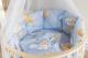Комплект постельный в кроватку Баю-Бай Нежность К91-Н4 (голубой) -