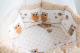 Комплект в кроватку Баю-Бай Раздолье К91-Р2 (бежевый) -