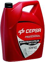 Моторное масло Cepsa Eurotech LS 10W40 Plus / 524043072 (5л) -