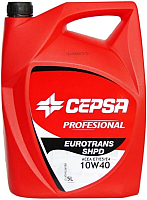 Моторное масло Cepsa Eurotrans SHPD 10W40 / 523983072 (5л) -