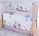 Комплект постельный в кроватку Баю-Бай Раздолье К60-Р4 (голубой) -