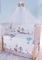 Комплект в кроватку Баю-Бай Раздолье К70-Р4 (голубой) -