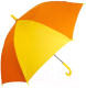 Зонт-трость Ame Yoke L 541 (желтый/оранжевый) -