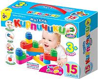 Развивающая игрушка Десятое королевство Мягкие кирпичики мини / 02672 -