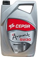 Моторное масло Cepsa Avant 5W30 SYNT / 512663601 (4л) -