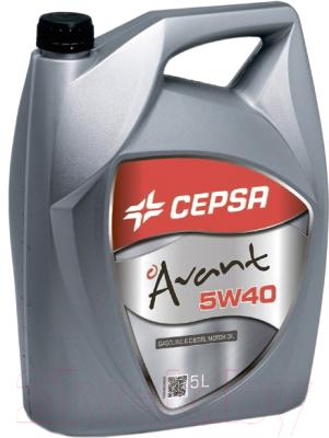 Моторное масло Cepsa Avant 5W40 SYNT (5л)