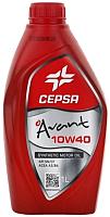 Моторное масло Cepsa Avant 10W40 SYNT / 512634188 (1л) -