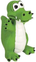 Игрушка для собак Beeztees Латексный зеленый крокодил / 620820 -