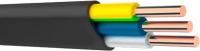 Кабель силовой Ecocable ВВГнг(А)-LS-П 3x6 ок (N / PE) - 0.66 (10м) -