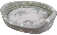 Лежанка для животных Happy Friends Орион №1 stm 335 (овальный, ткань бязь) -