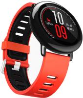 Ремешок для умных часов Miru DSJ-05 4079 (силиконовый, красный/черный) -