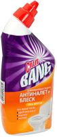 Чистящее средство для унитаза Cillit Bang Анти-налет+Блеск. Сила цитруса (450мл) -