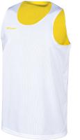 Майка баскетбольная 2K Sport Training / 130062 (L, белый/желтый) -